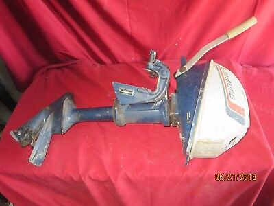 Vintage Evinrude Lightwin 3 HP Outboard boat motor parts repair untested