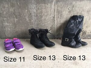 Girls' shoes and boots