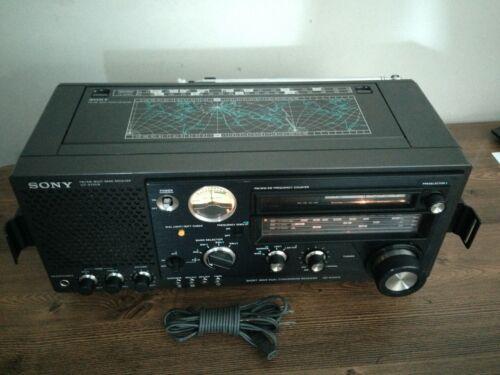 SONY FM/MW/SW 5Band Receiver Model No ICF-6700W, Good Condition.