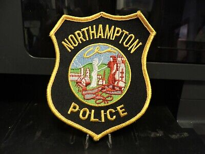 Company Closed, Patch Retired: City of Northhampton, MA Police Patch