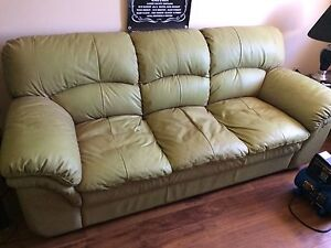Leather couch $200 obo