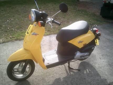 Honda Today Moped