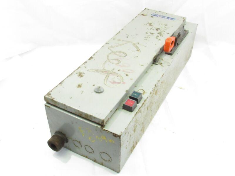 JOSLYN CLARK T18AA31603-T46 MOTOR STARTER COMBO DISCONNECT ENCLOSURE ***XLNT***
