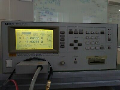 Agilent Hp 4284a Precision Lcr Meter 20hz - 1mhz