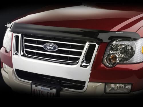 Ford Explorer 2006-2010 Smoke Bug Hood Shield Bugshield Deflector Stone Guard