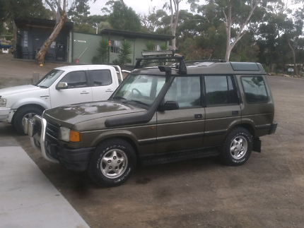 1997 LAND ROVER DISCOVERY 1 V8 DUAL FUEL WITH NEW ENGINE