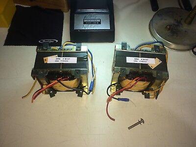 2 Used Arw Dual 12v 75w Transformers U 21507 Drg 154a42d