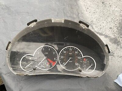 Peugeot 206 206cc Speedo Cluster Clocks Instrument Dials Gauges 9656697480