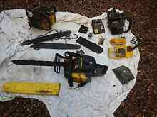 Mcculloch Chainsaw x3 suit parts North Richmond Hawkesbury Area Preview