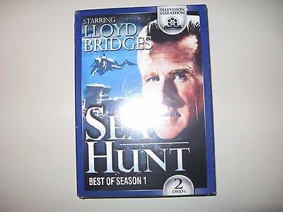 SEA HUNT - BEST OF SEASON 1 DVD 2 DVDS - NEW IN ORIGINAL PACKAGING