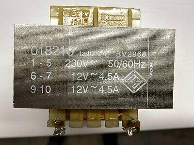 Netztrafo Trafo offene Bauform 230V auf  2x 12V  2x 4,5A