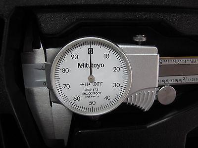 New Mitutoyo 8 Dial Caliper 505-743