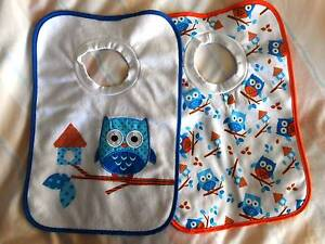 """""""Higgle Dee"""" Baby one size bibs $5 for both Newtown Geelong City Preview"""