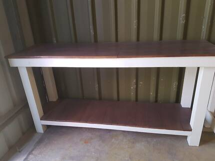 Made to order hall table, bench with pallet wood top and shelf Lonsdale Morphett Vale Area Preview