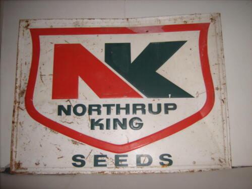 Vintage Northrup King Seed Sign