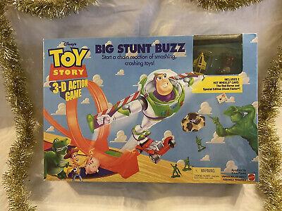 VINTAGE Hot Wheels Disney's Toy Story BIG STUNT BUZZ 1998 NEW In Box