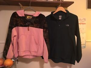 Ladies size large sweaters