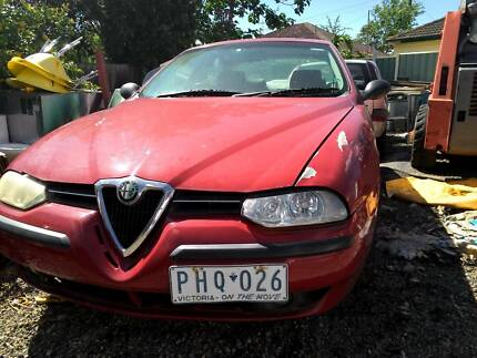 Alfa Romeo 156 2.0TS    wrecking all parts engine gearbox Sunshine Brimbank Area Preview
