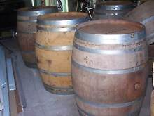 Excellent condition full size French wine barrels Manning South Perth Area Preview