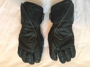 Alpine Stars women's motorcycle gloves (leather and gortex) x small Glebe Inner Sydney Preview