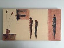Canvas painting - original Melbourne CBD Melbourne City Preview