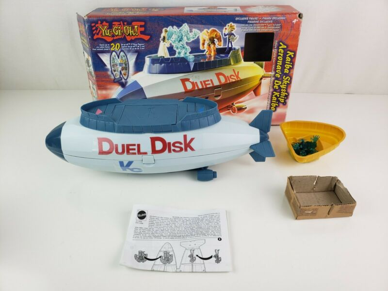 Yu-Gi-Oh Kaiba Skyship Duel Disk Blimp in BOX Travel Storage Carry w figure 96