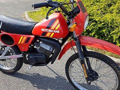 kit autocollants stickers motobecane ew rouge