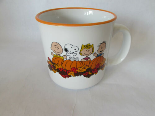 Peanuts Gang Snoopy Pumpkins Coffee Mug Sunddenly It