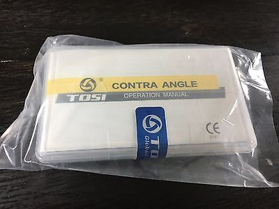 Tosi New Dental Low Speed Ball Bearing Contra Angle Handpiece Tx-414a 7