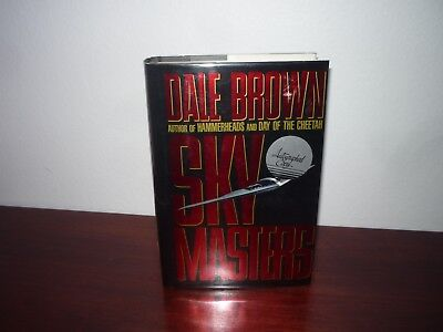 Sky Masters Dale Brown Signed Hardcover for sale  Shipping to India