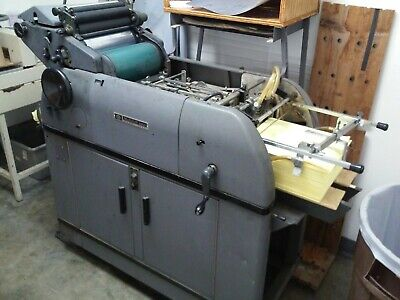 Multilith 1250w Offsett Printing Press