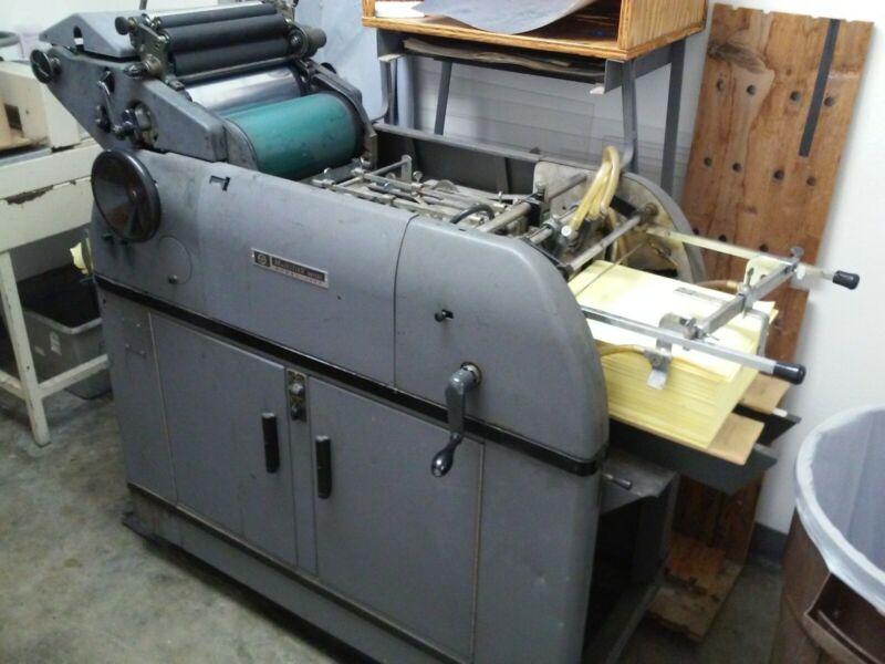 Multilith 1250W Offsett Printing Press
