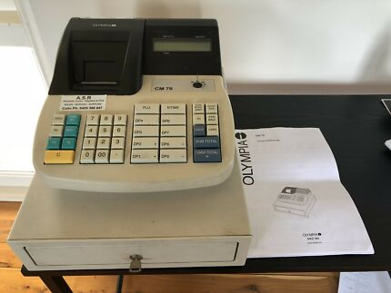 Cash Register - Olympia CM 70