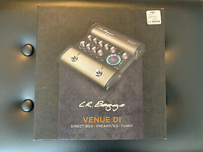 L.R. Baggs Venue DI Box - Acoustic Guitar Pedal / Preamp