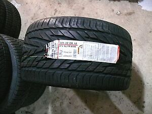GENERAL EXCLAIM UHP TIRES 285-30-18 ZR RATED - PORSCHE 911 993 Z06 E55 SL M5 M3