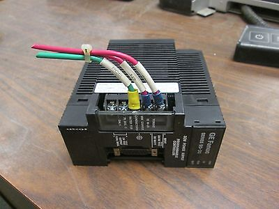 Ge Fanuc Dc Power Supply Ic693pwr322f 2448 Vdc 30w Missing Part Cover Used