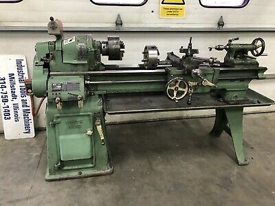 1980s South Bend 13 X 40 Metal Lathe With Tooling Taper Attachment Camlock