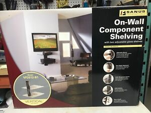 TV Component wall shelving  new in box