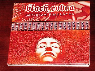 Black Cobra: Imperium Simulacra CD 2016 Season Of Mist Records SOM 361D Digipak ()