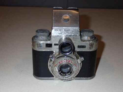 BOLSEY C22 One of the Only 35mm TLR