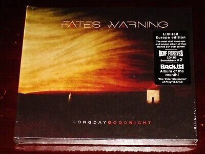 Fates Warning: Long Day Good Night - Limited Edition CD 2020 MB EU Digibook NEW