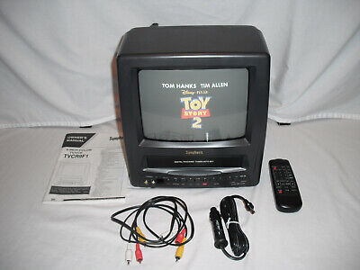 """Symphonic TV VCR Combo TVCR9F1 Works 9"""" Television Remote Manual VHS Color 1996"""