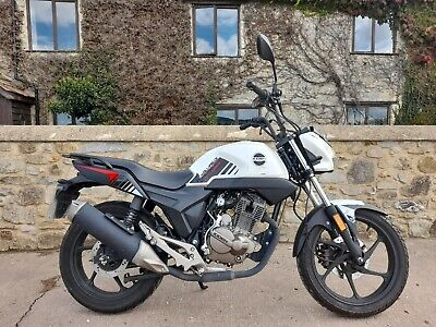 Kiden Aquarius 125cc KD125-G Motorbike, One Penny Start Price, No Reserve