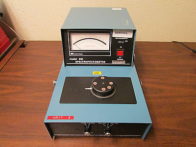 Sargent-welch Model Sm Spectrophotometer Tested Working