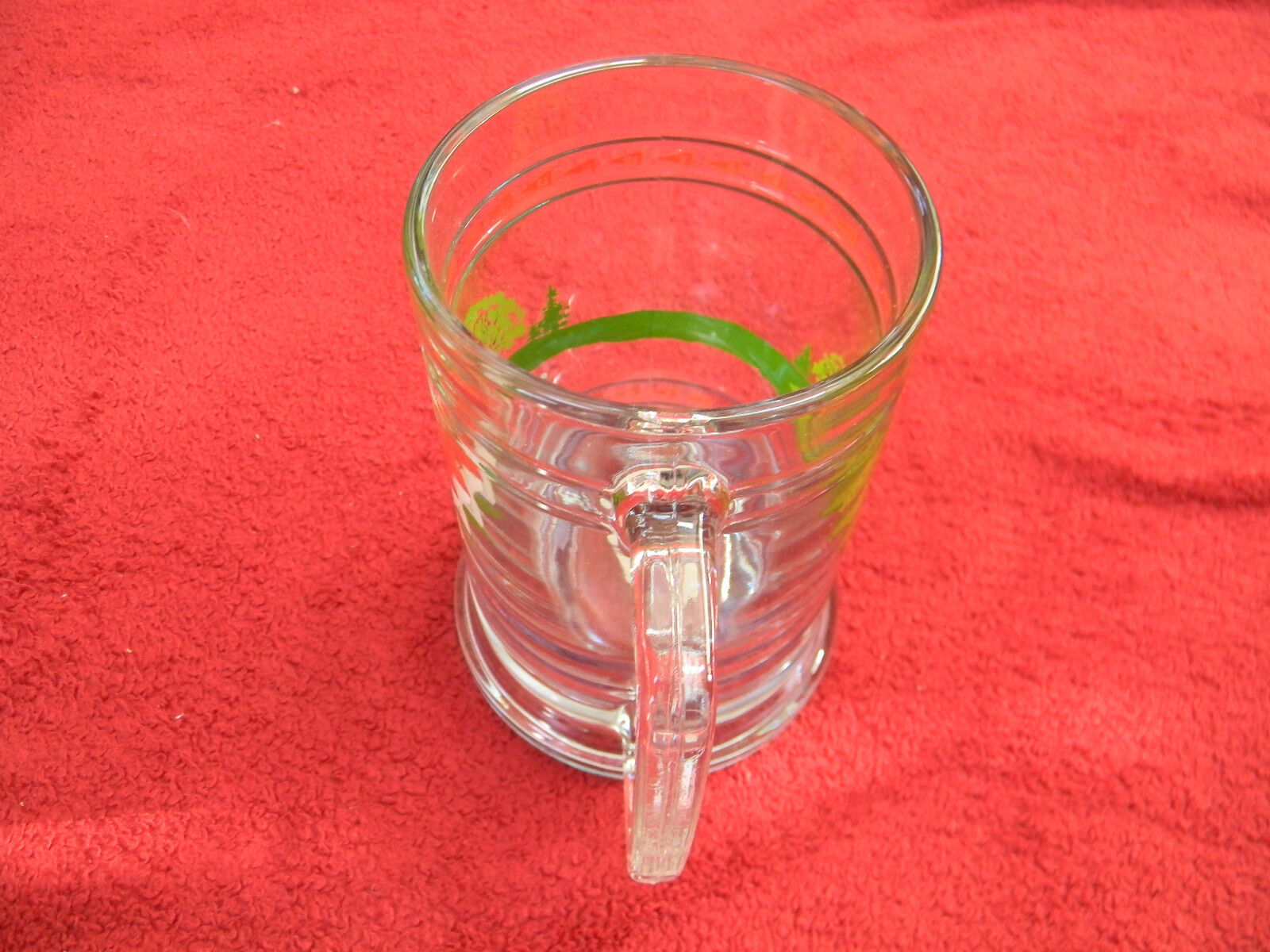 princess house exclusive fine crystal golf beer mug made in usa