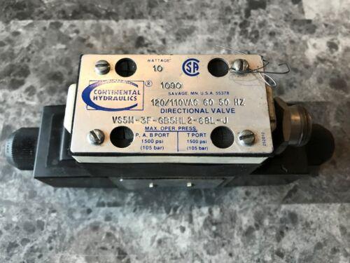 CONTINENTAL VS5M-3F-GB5HL2-68L-J DIRECTIONAL SOLENOID VALVE (S-16)
