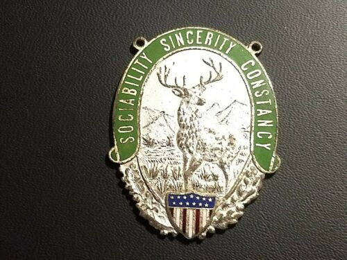 VINTAGE MEDAL THE COMPANIONS OF THE FORESTERS OF AMERICA