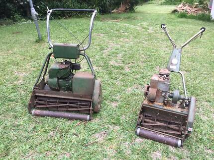 Two Vintage Briggs & Stratton Mowers $25 to a good home