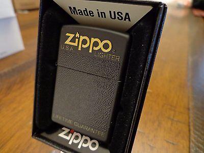 80'S - 90'S BLACK PLASTIC BOX DESIGN SERIES ZIPPO LIGHTER MI