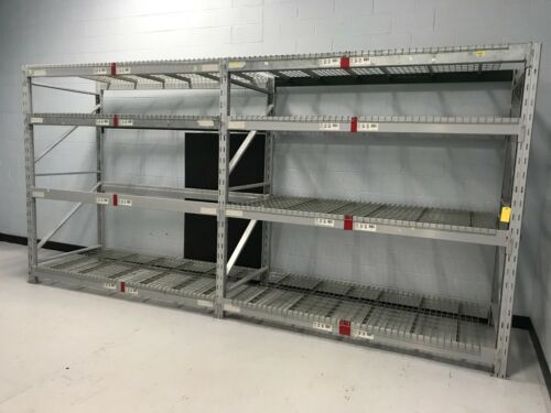 """2 Sections Heavy Duty Pallet Racking, 44""""W x 96""""H..."""